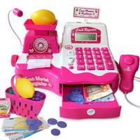 Gift child supermarket cash register toy baby birthday gift