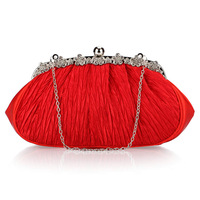 2013 women handbag evening bags day clutch bridesmaid bag red bags  wedding bags bridal bag