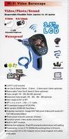 SB-IE99EW-4.5mm-3M 8pcs* Recording photo snake handled sound camera wireless waterproof borescope WiFi endoscope with 3.5'' LCD