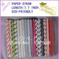 5000pcs mixed Chevron patterns & Striped & Polka Dot Paper Straws,Paper Drinking Straws,striped paper party straws,Drop shipping