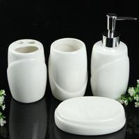 Free Shipping Hot Brief elegant ceramic bathroom set fashion smiley bathroom supplies kit fashion