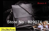 Hot sell! free shipping Clssical leather Men's briefcase,leather man's bags,with genuine leather,same as pictures