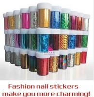 Free shipping 120*4cm (20pcs/lot 20designs) 2013 new arrival fashionable nail art Transfer foil sticker