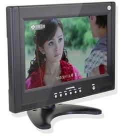 Ld-951 portable mini tv car television remote control 9 inch many Signal Systems ntsc av input Free shipping(China (Mainland))