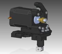 New K Extruder for 3D Printer for RepRap Mendel, work with 3mm diameter