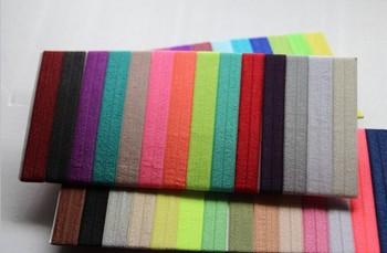 1000pcs Free Shipping Fold Over Women Elastic Hair Ties Bracelet Wristbands Lovely Ponytail Holder Wholesale