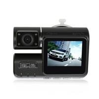 Free Shipping Car BLACK BOX DVR recorder New Full HD car Cameras 1280 x 720P 30fps 120 wide view Night Vision
