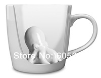 Free shipping 1Piece 250ml Octopus Surprise Mug / Ceramic Octopus Mug