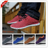 New arrive winter Suede Running Shoes Wholesale Retail Mens Womens Athletic sport shoes Free Drop shipping High Quality 36-44