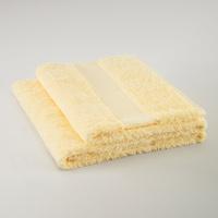 Long velvet cotton bath towel