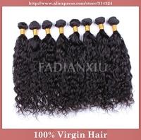 "Queen Hair Products Brazilian Deep Wave,100% Human Virgin Hair Mixed Lengths(12""-30""), Unprocessed Natural Hair Extensions, 5A"