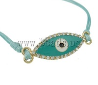 Free shipping!!!zinc alloy lobster clasp,Sexy Jewelry, gold color plated, enamel & with rhinestone, nickel, lead & cadmium free