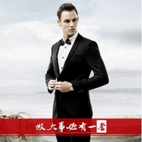 Autumn blazer male blazer men's clothing male slim blazer