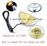 Free shipping Toyota 8 generation car door lamp LED welcome light