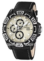 Promotion 2013 Festina Uhr Multifunktion Herren-Armbanduhr F16584/5+ ORIGINAL BOX FREE SHIPPING