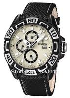 Promotion 2013 Festina Uhr Multifunktion Herren-Armbanduhr F16584/5+ ORIGINAL BOX FREE SHIPPING