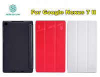 2013 New NILLKIN V Series Leather Case For Google Nexus 7 II 3Colors Free Shipping
