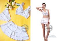 Fashion split skirt swimwear female 1051 casual hot-selling 3