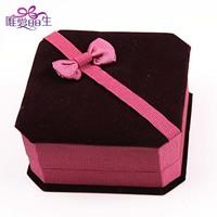 Purplish red quality bracelet box gift box jewelry box