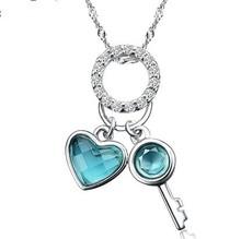 popular sterling silver key pendant