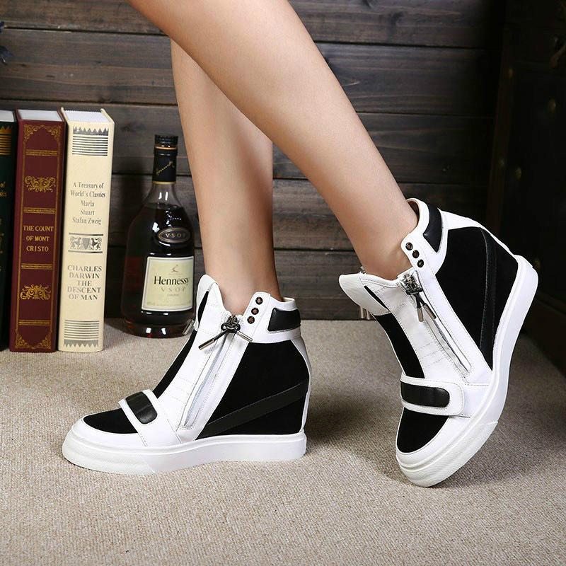 Sneaker Wedges 2014 Wedge High Heel Sneakers