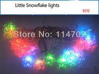 5pcs/lot  Christmas 220V EU Plug RGB 4M 20 LED Light Strip For Chrismas Tree Decoration, Free Shipping