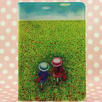 1pcs Free Shipping For Ipad mini case, Cute Jimmy cartoon leather case for ipad mini Stand Cover case