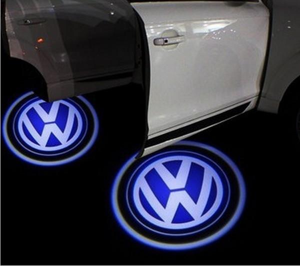 5w auto 2pcs lot door cree led licht 3d logo welkom spook schaduw