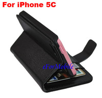 Leather Case Stand Book Case Mobile Phone Case Cell Phone Case For iPhone 5C