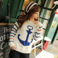 Новый крючком Топ свободные рубашки вырез длинными рукавами пуловер Блузки для женщин вышивка кружева марлевые пуловер z50