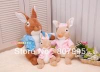 Free postage 40CM cartoon Adorable Peter Rabbit Plush Doll