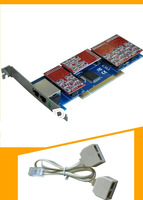 NEW TDM810P 4dual fxs/fxo PCI VOIP Analog card,Asterisk card  on stock sell work with 2U class