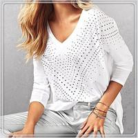 Женские блузки и Рубашки , Batwing , 4 , W551