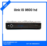 2013 new model ilink satellite receiver Ilink 9600 hd fta for ATSC Wifi Twin tuner Ethernet USB by ilink 9600hd free shipping