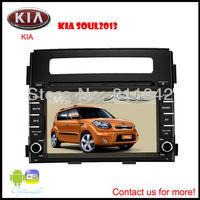 Freeship full functions 7 Inch GPS Car DVD System AV Multimedia Navigation Special Use for kia soul 2012-2013