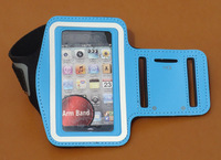 new  Solf Belt Sport Armband For iPhone 4 4S 5 5c Colorful Arm Band For iPhone 4 4s 5 5s Travel Accessory 1pc/lot free shipping