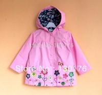 Sunlun Girl's Winter Dot Cotton Coat Padded Jacket Warm Thick Outwear free Shipping Clothing Set Girl Dress Children Outerwear