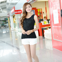 Lace cotton vest hyzl10192