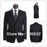 2014 Custom Cheap new arrival Black suits for  wedding business men  Free shipping Groom Wear A102