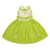 One-piece dress 2013 new fashion Hot designs,New style girls dress, girls clothes 100cotton dress cute (2T-6T)