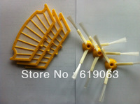 3 piece Replacement Filter for iRobot Roomba Cleaner Filter  and 3 piece iRobot Roomba Cleaner 3 Arms Side Brush