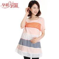 Maternity clothing summer fashion maternity clothing t skirt maternity top maternity t-shirt casual loose padded