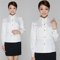 Female shirt long-sleeve clothes spring work wear