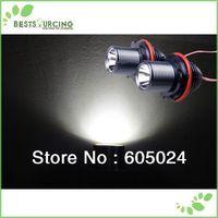 free shipping 1pairs Cree 10W White LED Angel Eyes Marker light For BMW X3/e39/e53/e60/e63/e87
