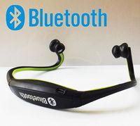 1pcs, Sports Wireless Bluetooth Headset Earphone Headphone Earphone for Mobile phone iphone Samsung PC, free dropshipping