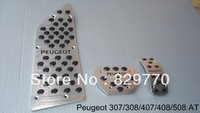 AT Foot Rest pedals Foot pedal  for PEUGEOT 307 308 407 408 508 Aluminum alloy Great items Good quality