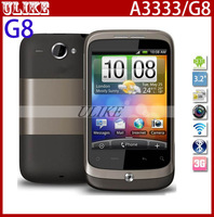 "Original Unlocked Wildfire A3333 G8 Cell Phone 5MP Camera 3.2"" Touchscreen 3G WIFI GPS Fast Free Shipping"
