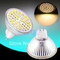 5pcs MR16 GU5.3 Warm White 60 SMD 12V Spotlight 60 LED Spot Light Bulb Lamp