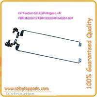 1Pair Laptop LCD Hinge For HP Pavilion G6 G6-1000 G6-1100 G6-1200 G6-1300 LCD Hinge Hinges P/N:FBR15008010 FBR15007010