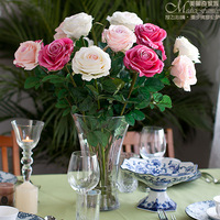 311 rose artificial flower quality bowyer silk flower dining table artificial flower